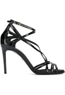 Dolce & Gabbana Sandália Keira - Preto