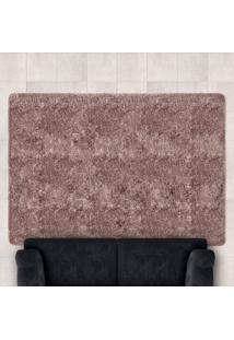 Tapete Confort Shaggy 1,40M X 2,00M Para Salas E Quartos Marfim - Bene Casa - Unico - Dafiti