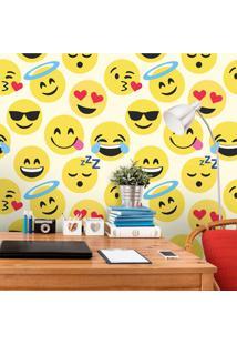 Papel De Parede Emoji Diversos