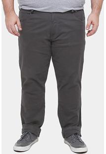Calça Slim Fit Biotipo Color Plus Size Masculina - Masculino