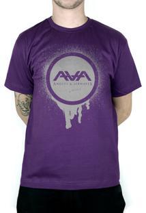 Camiseta 182Life Graffiti Roxo