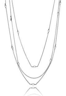 Colar Waufen Ródio Negro Lilas