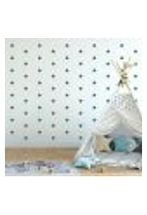 Adesivo Decorativo De Parede - Kit Com 140 Estrelas - 005Kab16
