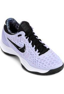 Tênis Nike Air Zoom Cage 3 Feminino - Feminino-Roxo+Preto