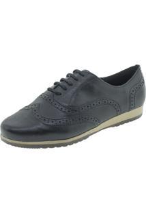 Sapato Feminino Oxford Bottero - 305401 Preto