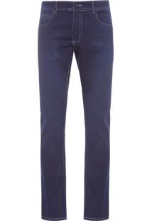 Calça Masculina Jeans Basic Dark - Azul