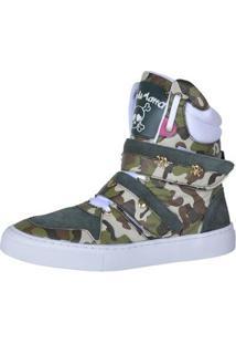 Sneaker Eagle Black Fitness Feminino - Feminino-Verde