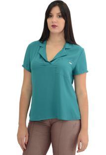 Camisa Energia Fashion Armani Verde