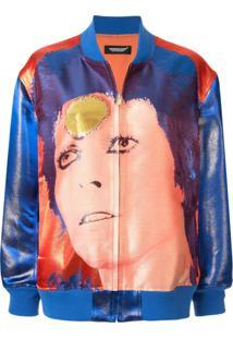 Undercover Jaqueta Bomber Bowie - Azul