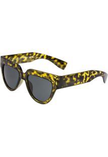 Óculos Ray Flector Buckingham - Feminino-Amarelo+Preto