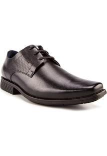 Sapato Social Ferracini Couro Preto