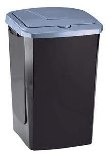 Lixeira Arthi Com Tampa Eco Fácil Em Plástico - 40 L