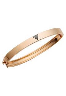 Pulseira Ouro Rosé E Diamantes Brown