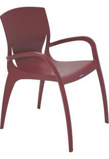 Cadeira Clarice- Marsala- 79,5X59X59Cm- Tramontitramontina