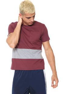 Camiseta Fiveblu Bolso Vinho