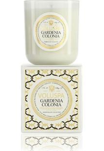 Vela Gardenia Colonia Coleção Maison Blanc Copo 100 Horas Voluspa