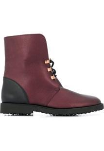 Hogl Ankle Boot Cuddly - Vermelho