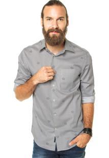 Camisa Perry Ellis Listrada Azul
