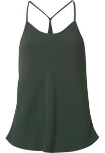 Uma | Raquel Davidowicz Blusa Nadador - Verde