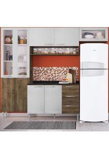 Cozinha Heloisa 0425T 9 Portas C/ Tampo – Genialflex - Demolição / Gelo