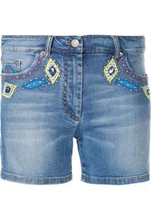 Moschino Short Jeans - Azul