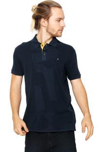 Camisa Polo Ellus Estonada Azul-Marinho