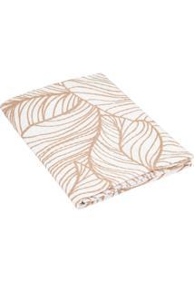 Porta Travesseiro Teka Com Abas Bege Lauren ( 50X70Cm ) - Coleã§Ã£O Enamorata - Multicolorido - Dafiti