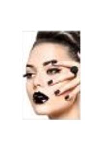Painel Adesivo De Parede - Salão De Beleza - Maquiagem - 1439Pnp