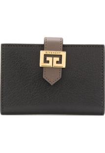 Givenchy Carteira 'Gv3' De Couro - Preto