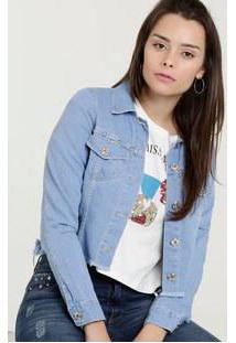 Jaqueta Feminina Jeans Botões Biotipo