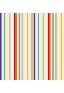 Papel De Parede Lyam Decor Listra Rush Multicolorido
