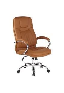 Cadeira Office Lyon Caramelo Rivatti
