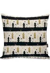 Capa Para Almofada Em Microfibra ÁRvores De Natal- Off Wstm Home