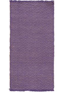 Tapete Chevron 1 Violet Pr - 185 X 091 Cm