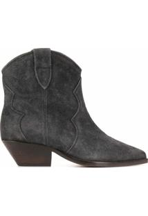 Isabel Marant Ankle Boots Dewina - Cinza