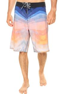 Bermuda Mandi Estampa Multicolorida