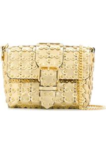 Red Valentino Bolsa Red(V) Flower Puzzle - Dourado