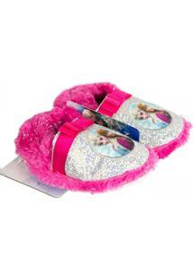 Pantufa Ricsen Frozen - Feminino-Rosa