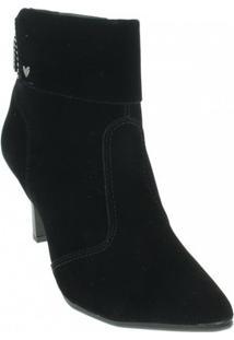 Bota Camurça Ankle Boots Mississipi Feminino - Feminino