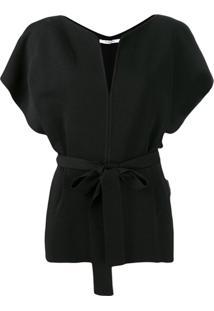 Givenchy Blusa Com Cinto - Preto