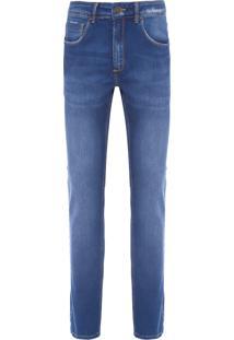 Calça Masculina Skinny Pureo - Azul
