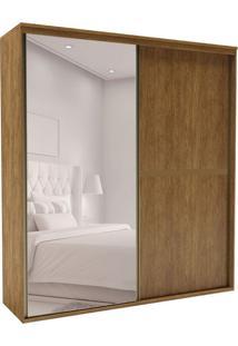 Guarda-Roupa Casal Com Espelho Sofisticato 2 Pt 6 Gv Álamo