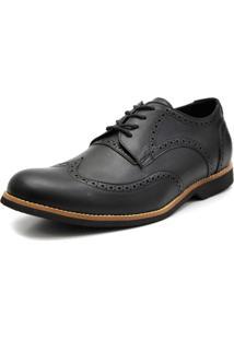 Sapato Social Shoes Grand Europa Preto Tamanho Especial