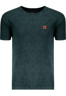 Camiseta Hang Loose Especial Marble Masculina - Masculino-Verde