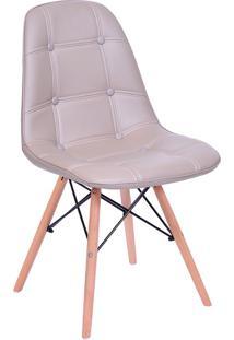 Cadeira Com Base Fixa 1110-Or Design - Fendi