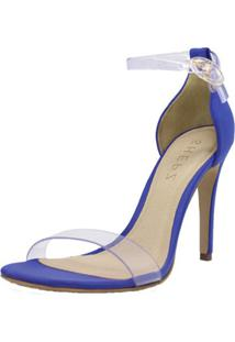 Sandália Shepz Transparente Azul - Tricae