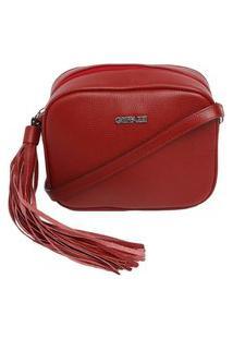 Bolsa De Couro Griffazzi Vermelha