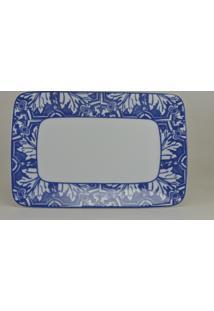 Bandeja Retangular Schmidt - Dec. Azulejo