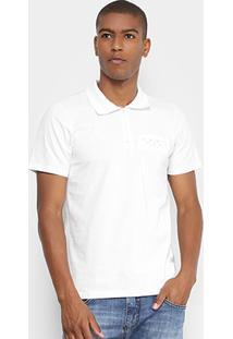Camisa Polo Sba Com Zíper Masculina - Masculino