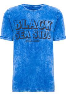 Camiseta Masculina Rg Black Sea - Azul